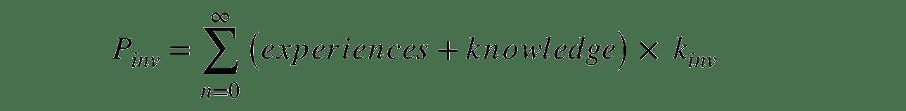 Riker Equation